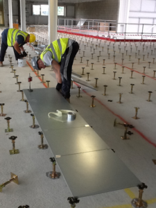 Access Floor Concrete Sealer Installation